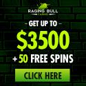 Raging Bull USD   350% Bonus   50 FS